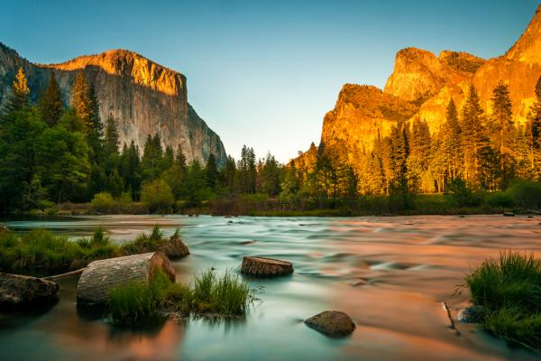 Yosemite National Park, Mammoth Lakes, Mammoth Mountain, Merced River, Yosemite Valley, Glacier Point, Half Dome, Mist Trail, Mariposa Grove, Vernal Fall, Nevada Fall
